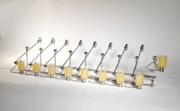 יונתן קו, מתוך תערוכת מעצבים חנוכיה, מוזיאון יפו