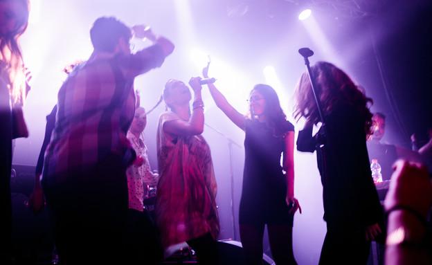 מארינה מקסימיליאן במועדון התאטרון (צילום: MuperPhoto)