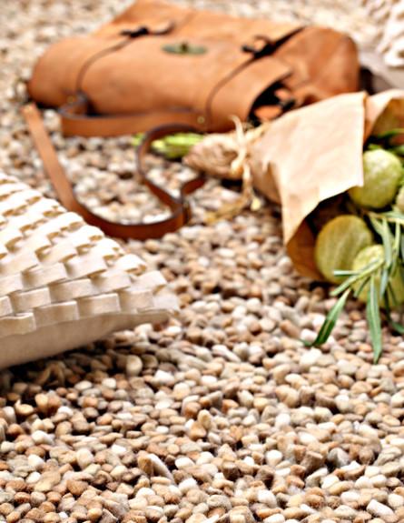 שטיח ברגמו צמר ברשת כרמל שטיחים ופרקט. צילום דן פר (צילום: דן פרץ)