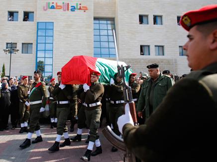 הלוויתו של זיאד אבו עין