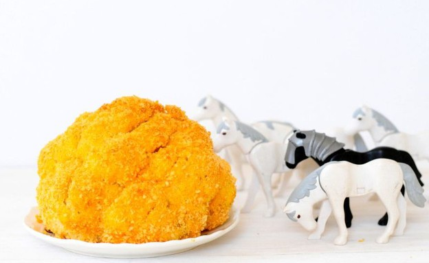 כרובית בציפוי חרדל (צילום: שרית נובק - מיס פטל, אוכל טוב)