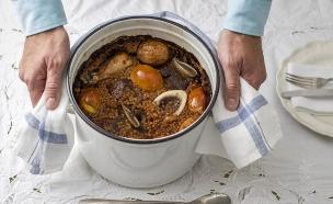 חמין פתיתים (צילום: אנטולי מיכאלו, אוכל טוב)