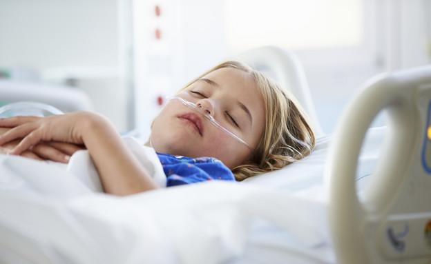 ילדה מאושפזת, ילדה, אשפוז, בית חולים (צילום: אימג'בנק / Thinkstock)