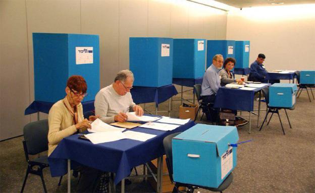ההצבעה בשבוע שעבר בליכוד (צילום: עדי ברוך, דוברות הליכוד)