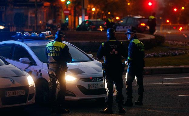 כוחות הביטחון במדריד (צילום: רויטרס)