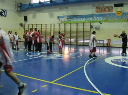 אימון של קבוצת שלוה (צילום: ספורט 5)
