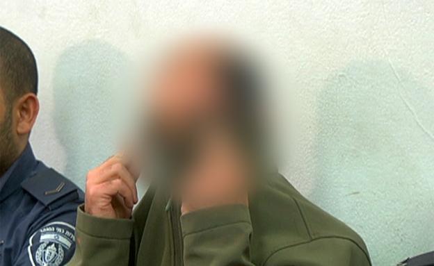"""הקצין בביהמ""""ש (צילום: חדשות 2)"""