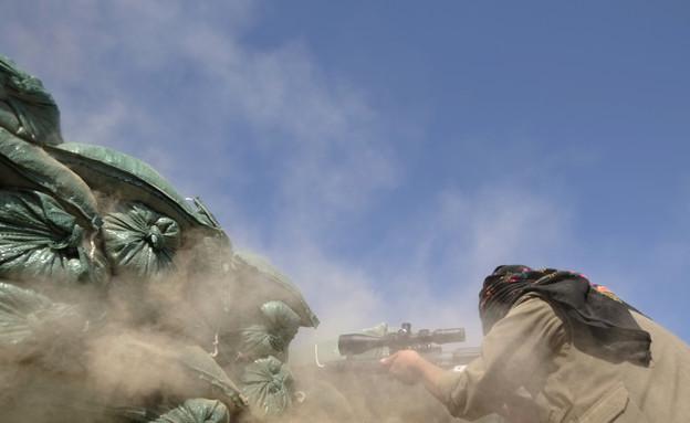 איתי אנגל - בחזית מול דעאש (צילום: אדי גרלד, קשת)