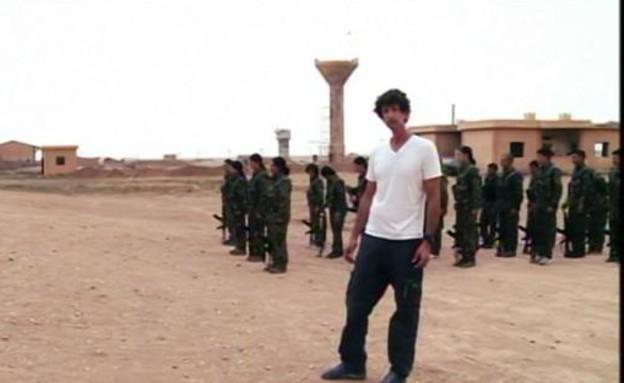 """בחזית מול דאע""""ש (תמונת AVI: אדי גרלד, שידורי קשת)"""