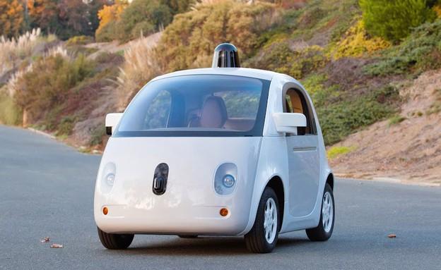 המכונית הרובוטית האמיתית של גוגל (צילום: גוגל)