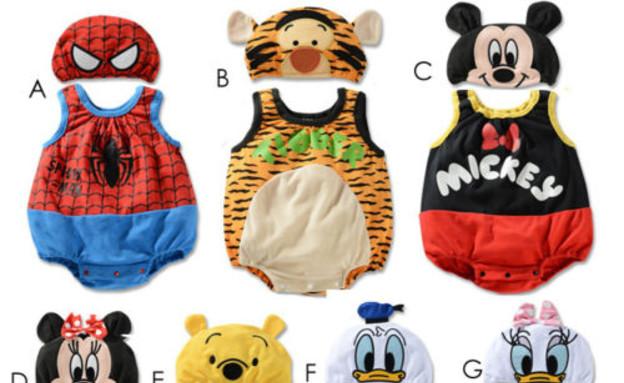 חליפות לתינוקות – 5 פאונד, משלוח חינם (31 ₪) (צילום: ebay)