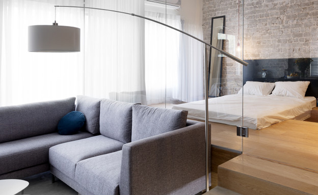 צבי ברוק, חדר שינה שקוף (צילום: גדעון לוין 181 מעלות)