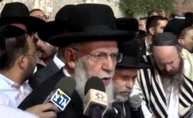 הרב שלום כהן, ארכיון (צילום: ערוץ 7)