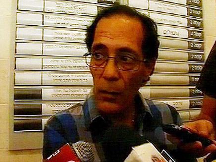 עמוס אלוני, אבי הבנות (צילום: חדשות 2)