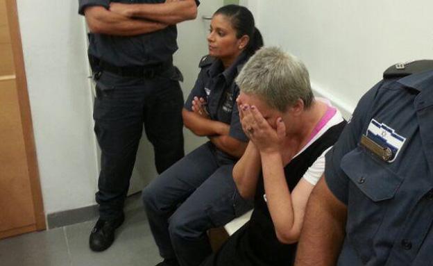 מיכל אלוני בבית המשפט, ארכיון (צילום: חדשות 2)