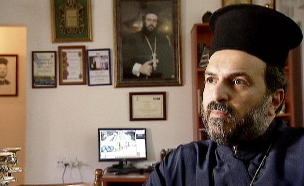 הכומר גבריאל נדאף (צילום: חדשות 2)