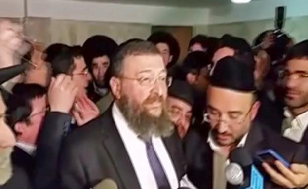 הרבנים במסע הרגלי אל בית דרעי