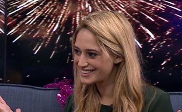 הטיפים של דנית לנשיקת סילבסטר (תמונת AVI: מתוך בקטע טוב, ערוץ 24)