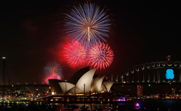 צפו בחגיגות השנה החדשה