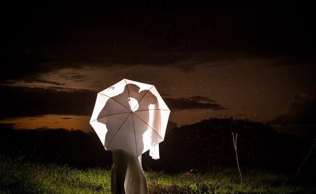 חתונה בגשם (צילום: יניב סופר)