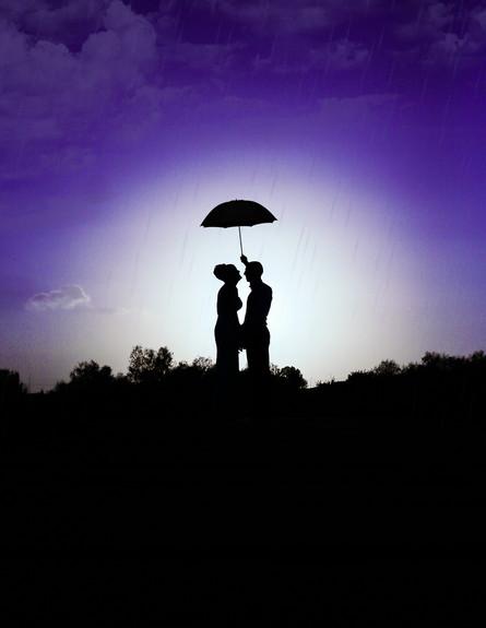 חתונה בגשם (צילום: וניל צילום בטעם)