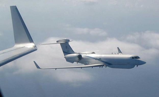 מטוס המודיעין נחשון (צילום: חיל האוויר)