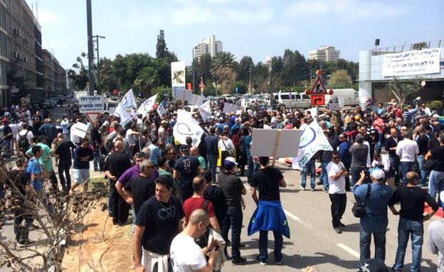 הזכויות האזרחיות טעונות שיפור (צילום: דוברות משטרת תל אביב)