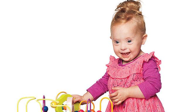 ילדים עם תסמוונת דאון בפרסומות (צילום: target)