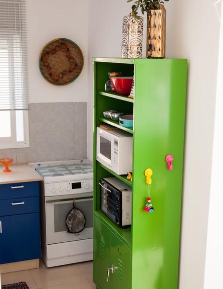 דירה סטפני גריב, ארונית במטבח (צילום: יוראי ליברמן)