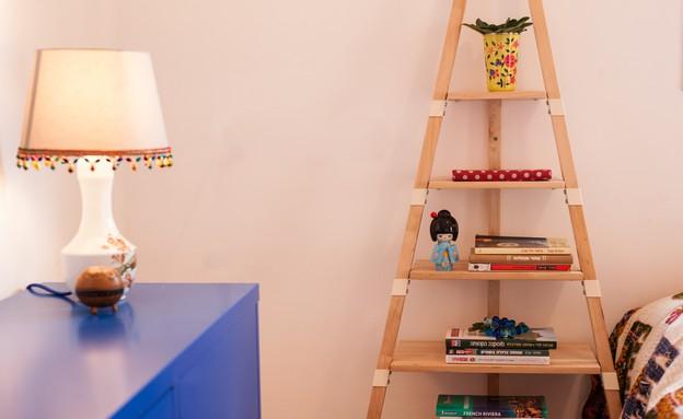 דירה סטפני גריב, חדר שינה (צילום: יוראי ליברמן)