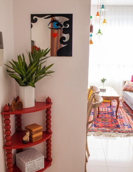 דירה סטפני גריב, כניסה (צילום: יוראי ליברמן)