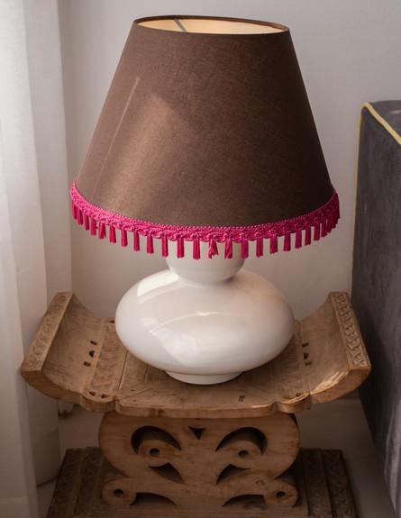 דירה סטפני גריב, מנורה גובה (צילום: יוראי ליברמן)