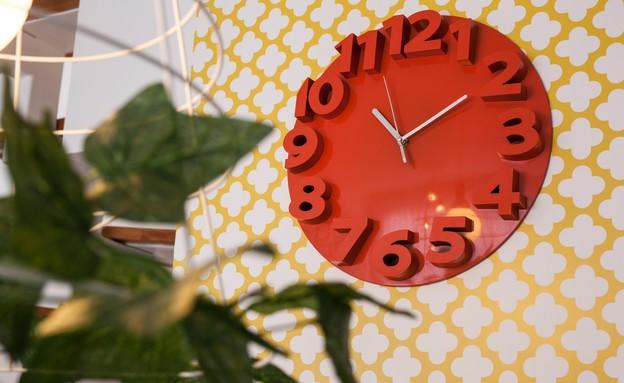 דירה סטפני גריב, שעון (צילום: יוראי ליברמן)
