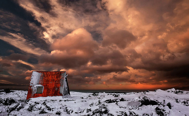 Abandoned Cabin, Iceland  (צילום: 500px.com)