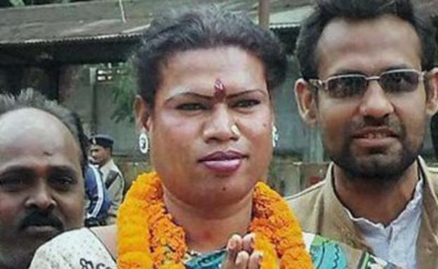 ראשת עיר טרנסג'נדרית בהודו