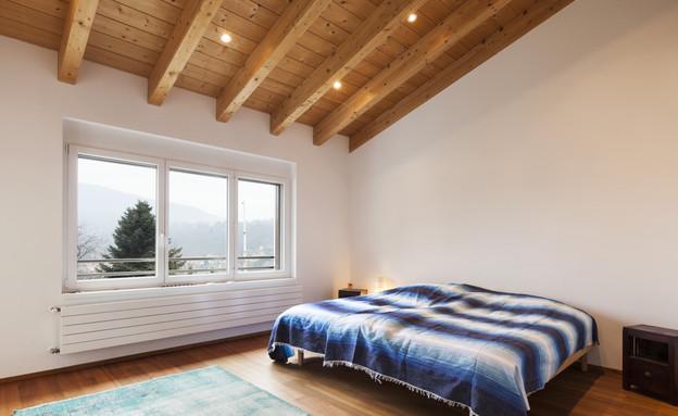 טעויות עיצוב, חדר שינה, טעות מספר 3 מיקום המיטה  (צילום: Thinkstock)