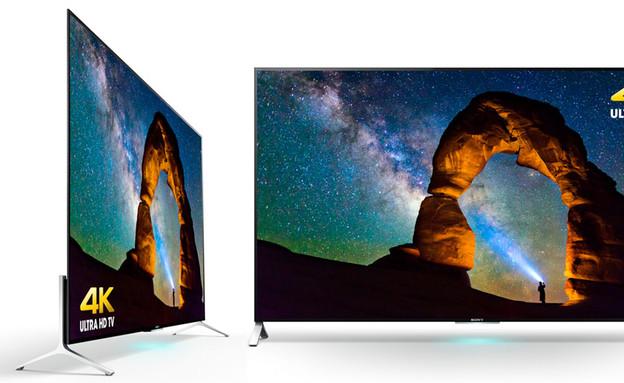 טלוויזיה בעובי 4.7 מילימטר של סוני (צילום: Sony)