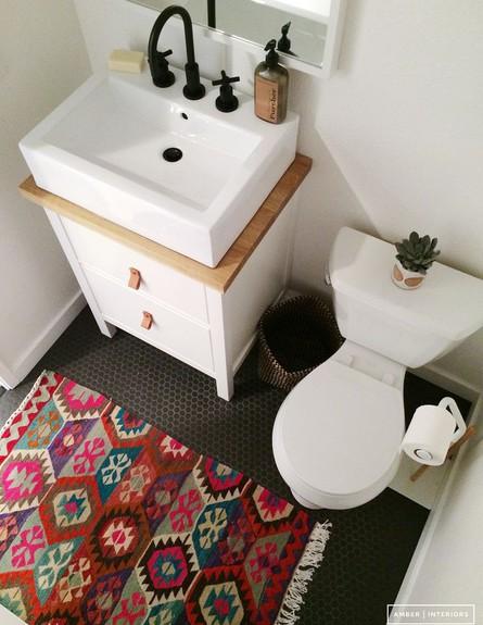 חדרי שירותים יפים (צילום: amberinteriordesign.com)