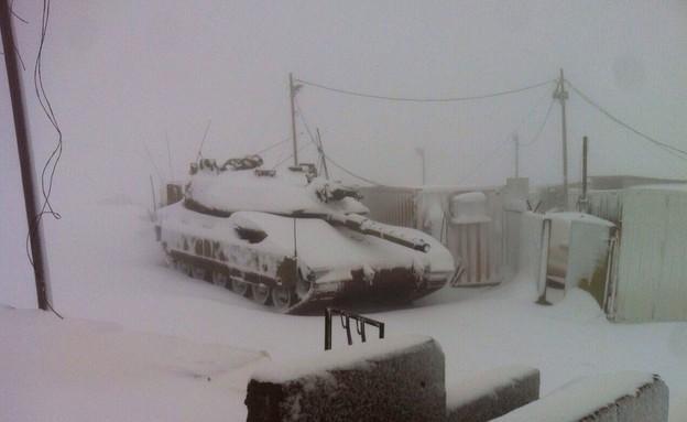 """חיילים בסערה (צילום: דובר צה""""ל)"""