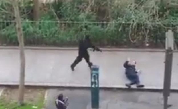 טרור בפריז (צילום: חדשות 2)