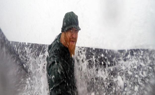 """צפו: תיעוד מסערה בנקרות (צילום: רועי סדן ו""""תיירות ראש הנקרה"""")"""