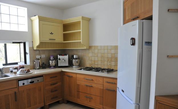 צביעת מטבחים, המטבח של קרין לפניי (צילום: צילום ביתי)