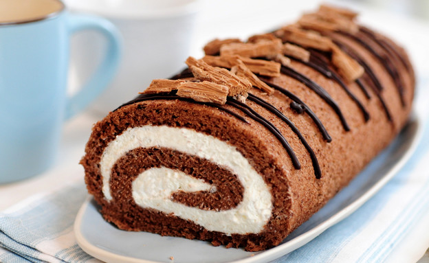 עוגת רולדה מהירה (צילום: שרית נובק - מיס פטל, אוכל טוב)