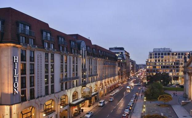 מלון הילטון ברלין (צילום: הילטון )