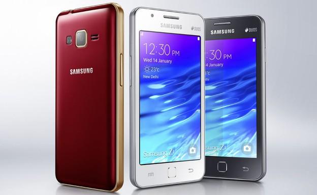 Samsung Z1, הסמארטפון הראשון עם מערכת ההפעלה Tizen (צילום: Samsung)