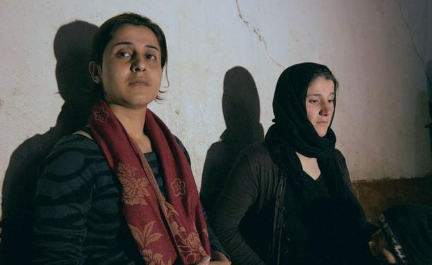 """נשים יאזידיות בשבי דאע""""ש (צילום: BBC)"""