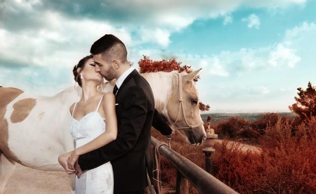 החתונה של שירן ועמית (צילום: יאיר צריקר)
