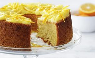עוגת תפוזים עם קרד תפוז (צילום: דניה ויינר, על השולחן)