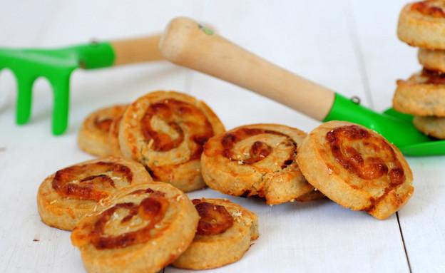 שבלולי פיצה (צילום: שרית נובק - מיס פטל, אוכל טוב)