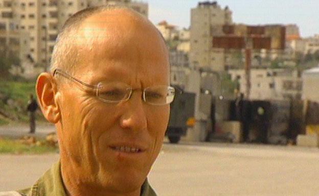 אלוף ניצן אלון מפקד פיקוד המרכז (צילום: חדשות 2)